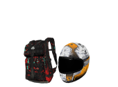 H1Z1 Showdown Military Backpack + Orange Racing He ilan resmi